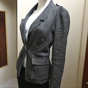Vince Linen/Cotton Twill Blazer